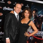 The Avenger Premiere - Clark Gregg and Jennifer Grey