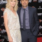 The Avenger Premiere - Mark Ruffalo and wife Sunrise Coigney