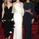 Les Miserables London premiere - Amanda Seyfried, Anne Hathaway, Samantha Barks