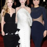 Les Miserables London premiere - Amanda Seyfried, Anne Hathaway, Samantha Barks 2