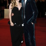 Les Miserables London premiere - Amanda Seyfried and Eddie Redmayne