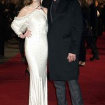 Les Miserables London premiere - Anne Hathaway and Hugh Jackman