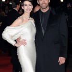 Les Miserables London premiere - Anne Hathaway and Hugh Jackman 2