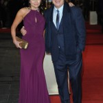 Les Miserables London premiere - Frances Ruffelle and Cameron Mackintosh