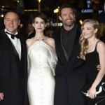 Les Miserables London premiere - Russell Crowe, Anne Hathaway, Hugh Jackman, Amanda Seyfried