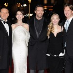 Les Miserables London premiere - Russell Crowe, Anne Hathaway, Hugh Jackman, Amanda Seyfried, Tom Hooper