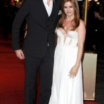 Les Miserables London premiere - Sacha Baron Cohen and Isla Fisher