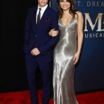 Les Miserables NY Premiere - Eddie Redmayne and Samantha Barks