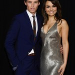 Les Miserables NY Premiere - Eddie Redmayne and Samantha Barks 2