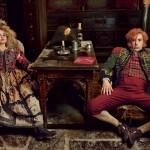 Les Miserables Vogue 2 - Helena Bonham Carter Sacha Baron Cohen