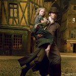 Les Miserables Vogue 3 - Hugh Jackman Isabelle Allen