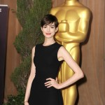 Les Miz Oscar luncheon Anne Hathaway