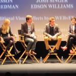 Les Miz - Samantha Barks, Amanda Seyfried, Tom Hooper, Eddie Redmayne, Anne Hathaway and moderator Annette Insdorf