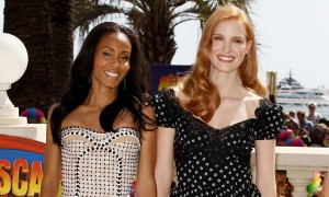 Madagascar 3 Europe's Most Wanted Jada Pinkett Smith and Jessica Chastain