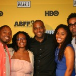 ABFF 2012 Short Film directors Donald Conley, Kimberly Townes, Carey Willams, Talibah Newman, Andre Wilkins