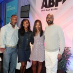 ABFF Founder Jeff Friday, Nicole Friday, Mara Brock-Akil, Salim Akil