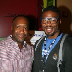ABFF Founder Jeff Friday and The Last Fall director Matthew A. Cherry
