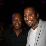 ABFF Founder Jeff Friday and director Malcolm D. Lee