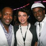 ABFF Founder Jeff Friday, director Benh Zeitlin, actor Dwight Henry