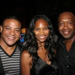 ABFF Independent producer Sean Joell Johnson, Nicole Friday, Jeff Friday