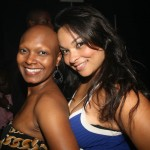 ABFF staff member Alshante Squire and friend