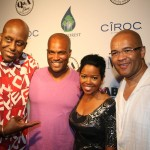 Bill Duke, Chris Spencer, Malinda Williams, and Codeblack's Jeff Clanagan