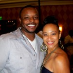 Brett Dismuke, VP of Acquisitions for Image Entertainment with Tesh Beckham