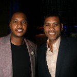 Carmelo Anthony and Allan Houston