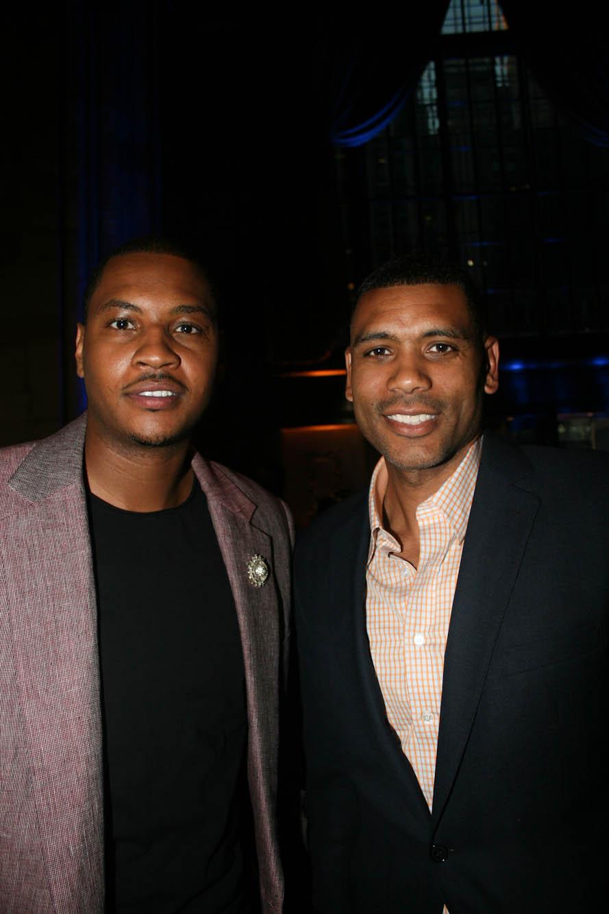 Carmelo Anthony and Allan Houston blackfilm read