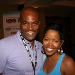Chris Spencer and Malinda Williams