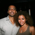 Christian Keyes and Mari Morrow