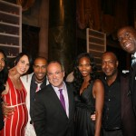 Cookie Johnson, Jae Pfautch, Omari Hardwick, GMC TV Vice-Chairman Brad Siegel, Nicole Friday, Jeff Friday, Earvin Magic Johnson