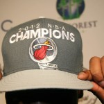 DJ Irie with Miami Heat championship hat