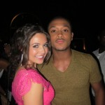 Danielle Campbell and Romeo Miller