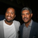 Director Malcolm D. Lee and Steve Mills, CEO and Founding Partner of  Athletes and Entertainers