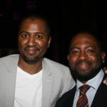 Director Malcolm D. Lee and Wilson Morales