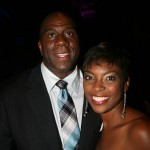 Earvin Magic Johnson and Fashion and Style expert Tai Beauchamp