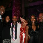 Earvin Magic Johnsonn, Cookie Johnson, Omari Hardwick, Jae Pfautch, Nicole Friday, Jeff Friday