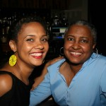 Essence Magazine Entertainment Editor Cori Murray and friend
