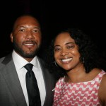 Former baseball player Gary Sheffield and Regina Chamberlain