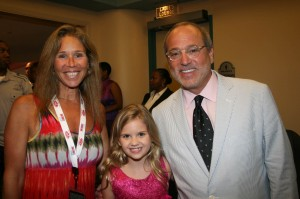 GMC TV Vice- Chairman Brad Siegel with wife and Raising Izzie actress Kyla Kenedy