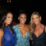 Gloria Govan, Laura Govan, Denise Richards