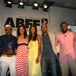 Jeff Friday, Will Packer, radio host Malikha Malette, Nicole Friday, Tim Story, Rob Hardy, Terrence J.