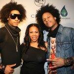 Les Twins and manager