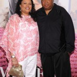 Madea's Witness Protection premiere - Justine Simmons and Rev Run