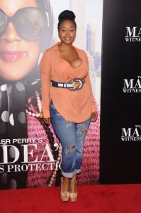 Madea's Witness Protection premiere - singer Chrisette Michele 2