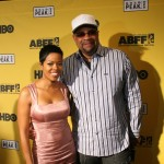 Malinda Williams and The Undershepherd director Russ Parr