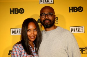 Mara Brock and Salim Akil
