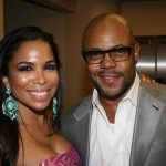 Maya Gilbert and Rockmond Dunbar
