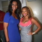 Miami Now Tv  Co-Host Michelle Madison and friend